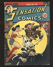 Sensation Comics # 32 - Wonder Woman VG/Fine Cond.
