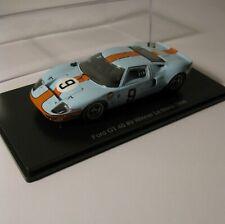 Ford GT 40 #9 LeMans Winner 1968 GULF * Spark Hachette Japan Collection 1:43 OVP