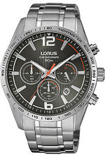 LORUS RT301FX-9,Men's Chronograph,QUARTZ,STAINLESS CASE,Brand New,50m WR