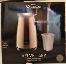Hotel Chocolat Velvetiser Hot Chocolate Machine Charcoal + Free 2 Cups BRAND NEW