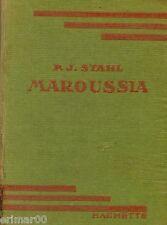 MAROUSSIA / P- J. STAHL // Bibliothèque Verte // Biographie // Histoire // 1947