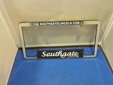 SOUTHGATE LINCOLN Dealer License Plate Frame Plastic