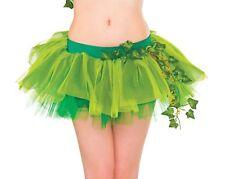 Poison Ivy Gonna Tutù Donna Costume Adulti Accessorio Nuovo