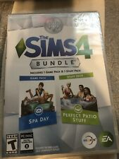 The Sims 4 Bundle Spa Day & Perfect Patio Stuff Expansion Pack - Free Shipping