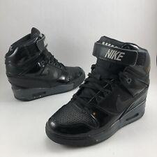 Nike Air Revolution Sky High Black - Women's Size 6.5 - Hidden Wedge 599410-009