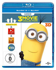 Minions 3d Boxset Blu-ray DVD Video