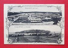 Jugendstil AK BITSCH in Lothringen 1914 Truppenübungsplatz und Festung  ( 34794