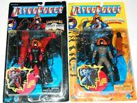 Ultra Force The Night Man Action Figure Lot (2)  FREE S/H Galoob  Malibu Comics