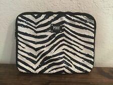 Victoria Secret PINK Laptop Computer Bag Zebra Sequins