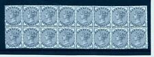 1884 - SG187 1/2d Slate-Blue MINT Block of 16
