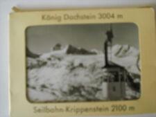 uraltes s/w Leporello König DACHSTEIN - Seilbahn KRIPPENSTEIN