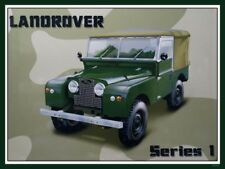 1959 LAND ROVER 4 WHEEL DRIVE SUV 4X4 TRUCK Car Vintage Look REPLICA METAL SIGN