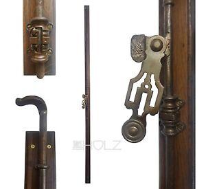 Espagnolette Antique Window Screw Cap Locking Old 212 CM