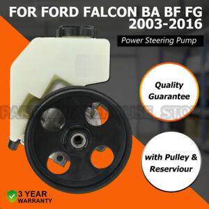 BRAND NEW POWER STEERING PUMP FOR FORD FALCON BA BF FG 6cyl INC XR6 & TURBO LPG