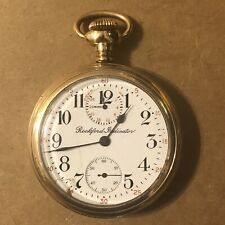 Pocket Watch, 16s,17j,Gold Filled, Runs Rockford Grade 665 Up/D'n Wind Indicator