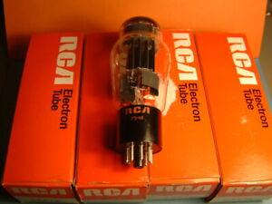 4 x 6AS7G RCA U.S.A. (1 QUARTET) SEL.TUBE AUDIO EQ. MULLARD ECC230 6080 CV2523