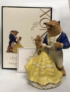 Disney Lenox Beauty and the Beast Belle Dances with Beast Figurine 883082