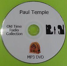 Paul Temple OTR 12 Complete Radio Serials Audio Books On DVD