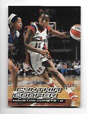 CYNTHIA COOPER 2000-01 ULTRA WNBA #1 HOUSTON COMETS