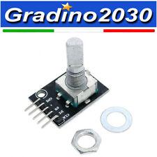 Modulo Potenziometro encoder rotativo con sensore KY-040 per Arduino