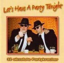 Let's have a Party tonight-32 Partykracher Chris Montez, Village People.. [2 CD]