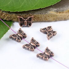 25pcs copper tone butterfly spacer beads H1927