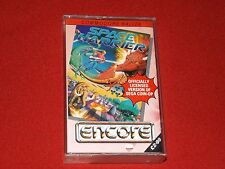 SPACE HARRIER -VINTAGE COMMODORE 64/128 GAME-ENCORE/ELITE SYSTEMS 1986- WORKING