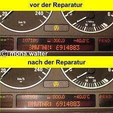 BMW PIXELFEHLER REPARATUR-ANLEITUNG TACHO E38 E39 E53 X5 M5