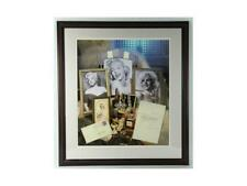 Marilyn Monroe Framed Poster With Signed Letter Lot 135A