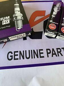 6x Genuine NGK RUTHENIUM HX Spark Plugs LFR6AHXS 94122  Brand New