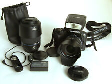Samsung NX11 Systemkamera mit Zubehörpaket- Top-Zustand - Komplettausrüstung!
