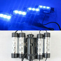 4x3 LED RGB Car Interior Atmosphere Footwell 12V Light Decor Cigarette Charger