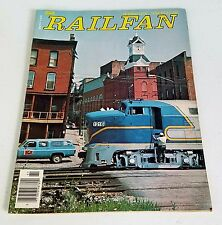 Railfan Magazine (Railfan & Railroad Magazine) Spring 1976 6th Issue Very Rare