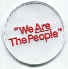 WE ARE THE PEOPLE (Taxi Driver) Patch - Iron On - FREE SHIPPING!