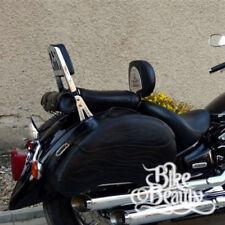 Respaldos color principal negro para motos Yamaha