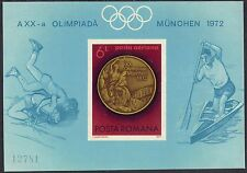 Romania 1972 sg 3964x Olympics Sheet MNH Limited issue