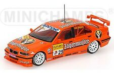 MINICHAMPS 982625 BMW 320i diecast model touring car JAGERMEISTER STW 1998 1:43