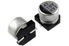 25pcs SMD Aluminium Electrolytic Capacitor 16V 47uF 6x5mm