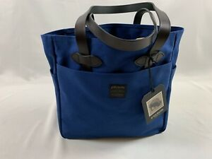 FILSON TOTE BAG WITHOUT ZIPPER FLAG BLUE NWT