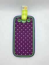 Samsung Galaxy S3 Hard Designer Phone Case Purple/Neon Green