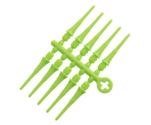 Cosmo Fit Point Plus 50 ct Soft Tip Points for Darts - 2ba - LIME GREEN