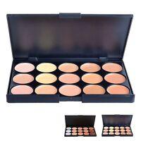 15 Colors Concealer Palette Cream Makeup Contour Kit Face Neutral Palette Case