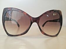New Tom Ford Nico 60mm Open Temple Butterfly Plastic Sunglasses Made In Italy