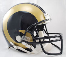 ST. LOUIS RAMS NFL Riddell Pro Line AUTHENTIC VSR-4 Football Helmet