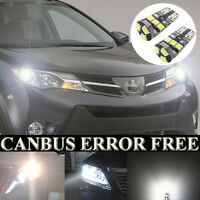 Fits For Avensis T27 W5W Xenon White LED Side Light Bulbs Beam Error Free x2