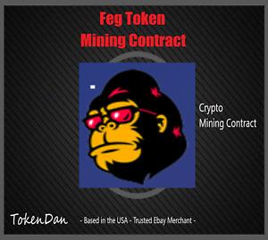 """500 Million """"500,000,000"""" FEG Token (FEGbsc) - Crypto Currency"""