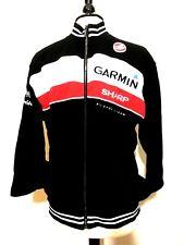 CASTELLI Team Garmin Sharp Baracuda Networks Pro Cycling Zip Front Jacket L
