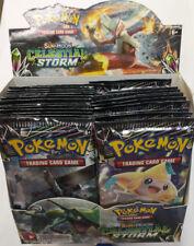 Pokemon TCG Sun & Moon Celestial Storm Booster Pack Free Shipping