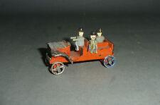 Alter Erzgebirge Feuerwehr Mannschaftswagen mit Zinnrädern 1920er Jahren