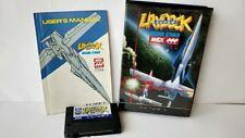 LAYDOCK MSX MSX2 Game Cartridge,Manual Boxed set tested Japan-a413-